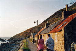 Crovie in north east Scotland